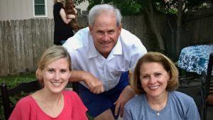 Lindy, John and Susan Cope