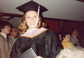 Susan Cope DDS graduation picture